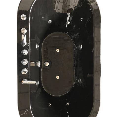 vasca da bagno nera cancun vasca da bagno idromassaggio freestanding nera