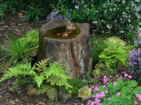 Water Feature Ideas For Small Gardens Cheap Garden Water Features Garden Fountains Water Features Design Garden Water Features For