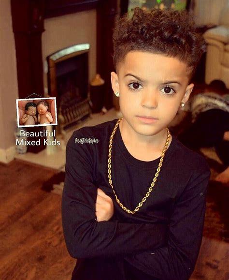 mixed little boys hair cut jay 8 years welsh jamaican baby fever pinterest