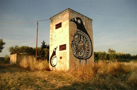 What Is Wall Mural lucy mclauchlan nesting birds italy unurth street art