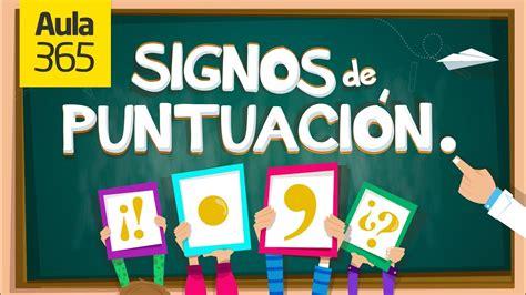 youtube signos de puntuacion c 243 mo usar los signos de puntuaci 243 n educativos para ni 241 os