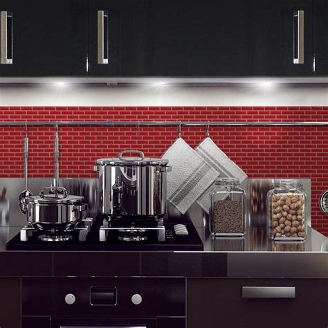 stick on kitchen backsplash smart tiles murano cosmo 10 20 in w x 9 10 in h peel and