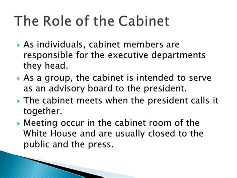 functions of the cabinet presidential cabinet roles home everydayentropy com