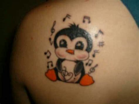 penguin tattoos baloney s it s baloney stuff