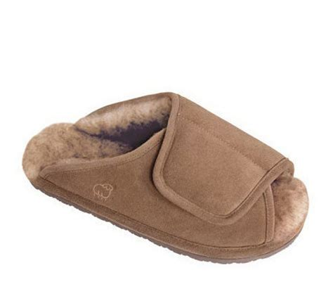 lamo sheepskin slippers lamo s sheepskin wrap slippers a186188 qvc