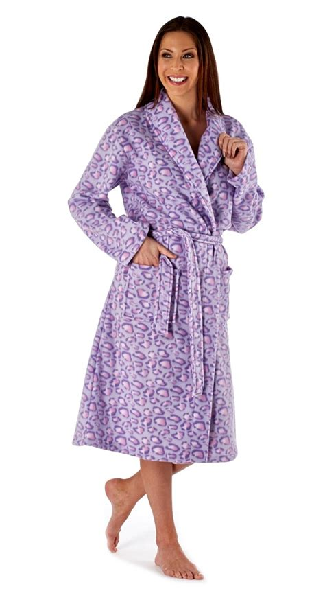 full length bathrobe ladies full length polar fleece dressing robes womens long