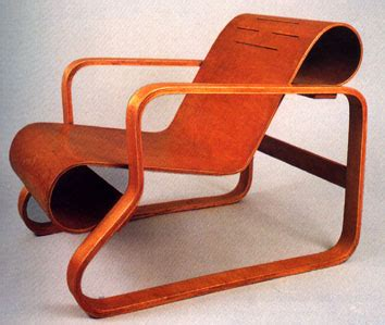 alvar aalto and his laminated wood and plywood furniture