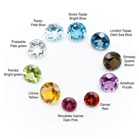 semi precious gemstone uk coloured birthstones precious semi precious explained