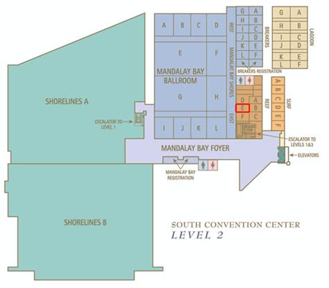 las vegas convention center floor plan mandalay bay convention center map immaginieuropa