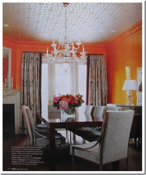 81 best images about orange dining room on trestle table orange dining room paint