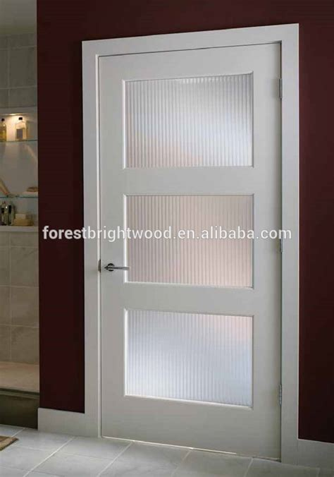 Living Room Glass Door Design Room Door Design Interior Wood Door Room Door