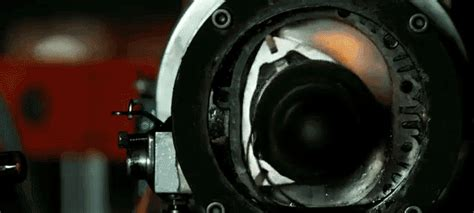 slow motion     combustion process works    wankel rotary engine
