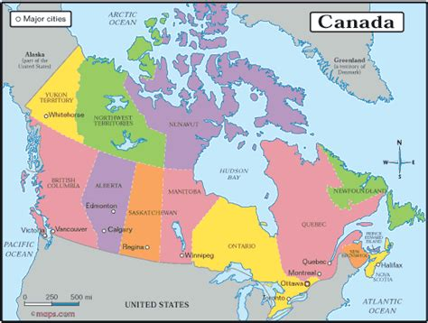 canadian map of provinces and territories map of canada with provinces