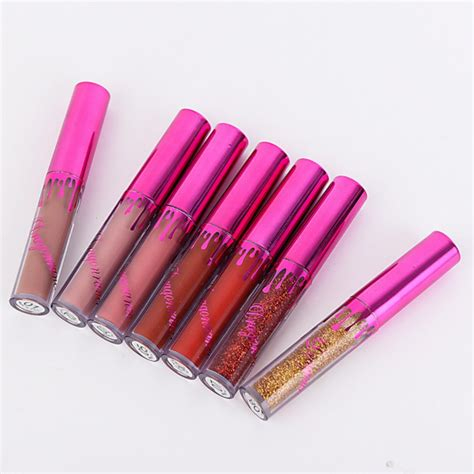 Lip Gloss Sparkles by Matte Liquid Lip Gloss Lipstick Moisturize Pen Pencil