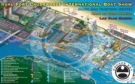 boat show graphics international boat show map archives