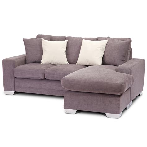 Kensington Chaise Sofabed 3 Seater Sofa Bed Coner Fabric 3 Seater Sofa Bed