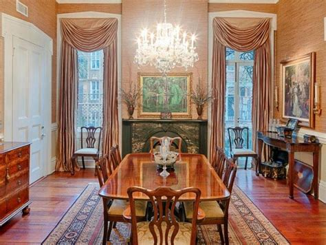 Historic Dining Room Colors Tour An Historic Row House On Beautiful Monterey