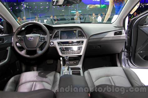 Hyundai Sonata 2014 Interior by 2015 Hyundai Sonata Interior At 2014 Guangzhou Motor Show