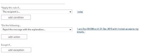 ooo message template manage out of office or automatic reply in office 365