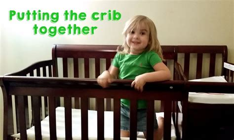 How To Put A Crib Together by Putting Up The Crib On Me 4 In 1 Portable