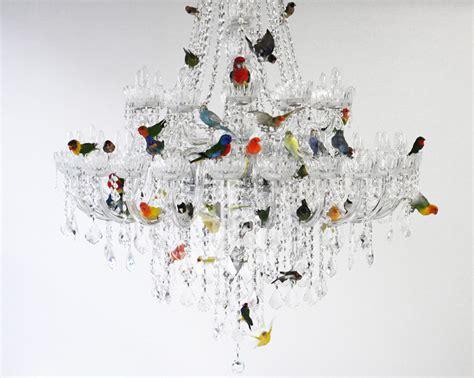 bird chandelier lighting xl bird chandelier by sebastian errazuriz the rest