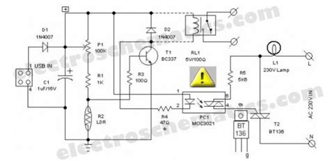 light dependent resistors circuit diagram light dependent resistor pc desk l led and light