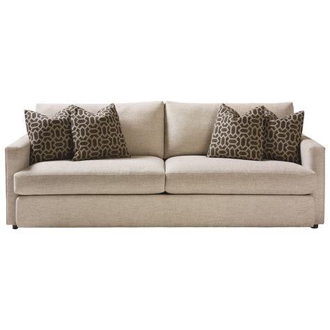 bassett hudson sofa bassett allure 2611 62fc contemporary sofa with track arms