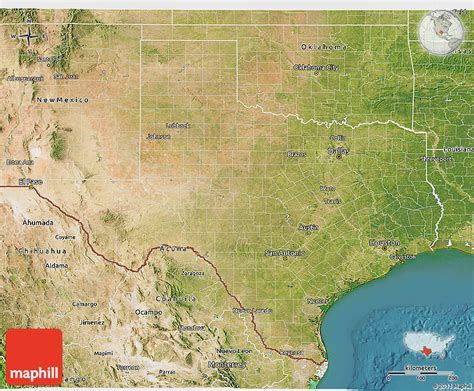 satellite map of texas satellite 3d map of texas