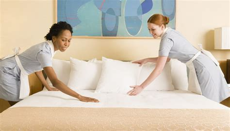 bed making by the staff picture of hotel goldi sands duties responsibilities for a housekeeping supervisor