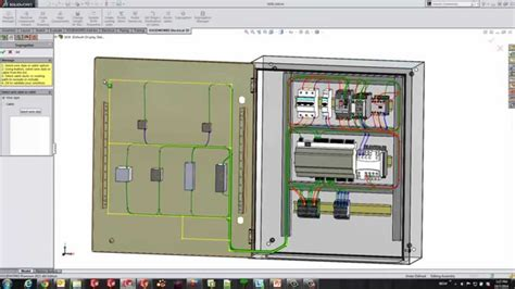 tutorial solidworks electrical 3d solidworks electrical 3d segregation youtube