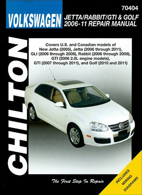 volkswagen jetta rabbit gti golf chilton repair manual 2006 2011 hay70404