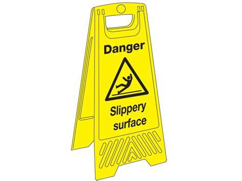janitorial plastic floor signs