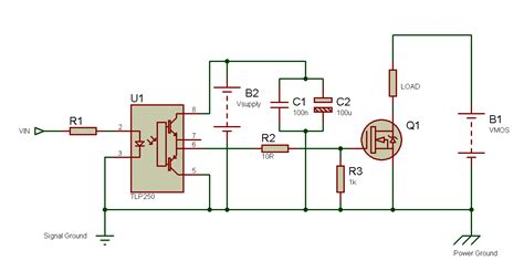 gate driver transistor tahmid s using the tlp250 isolated mosfet driver explanation and exle circuits