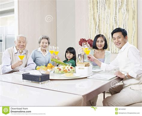happy asian family stock photo image 39742322