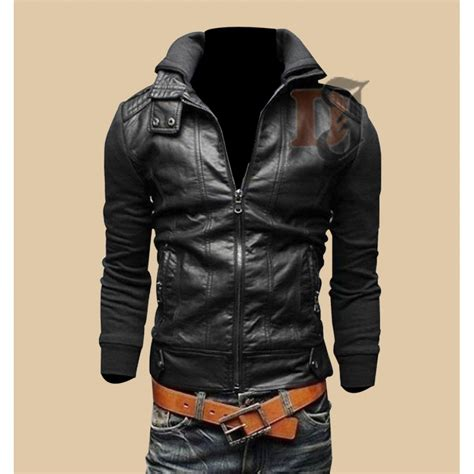 leather jackets for sale buy mens bomber biker style leather jacket for sale
