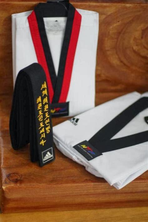 Adidas A Neo Hitam Fighter dobok adidas poom kerah merah hitam adi adidas