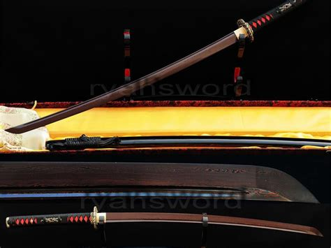 Authentic Handmade Katana - free shipping authentic handmade folded steel blade