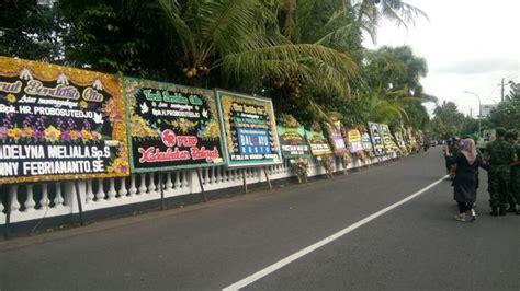 Kasur Yogyakarta keluarga probosutedjo siapkan ratusan kasur untuk pelayat