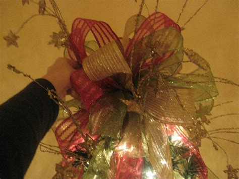 kristen s creations how to make a tree topper bow tutorial