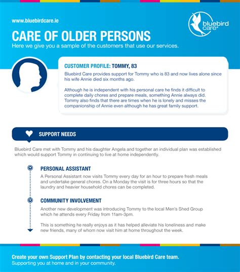 home care plans for the elderly home plan