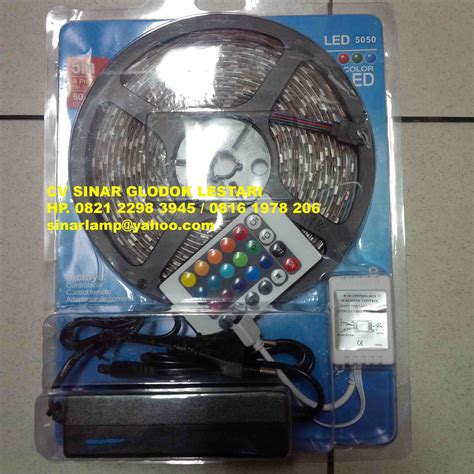 Lu Hias Led Remot aneka lu advertising dan back light lu led