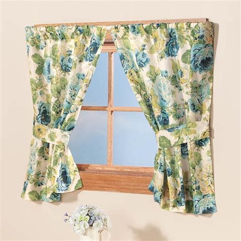 english floral curtains english floral window curtains window treatment walter