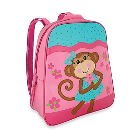Mey Josep Backpacks Pink stephen joseph 174 monkey go go backpack in pink bed bath