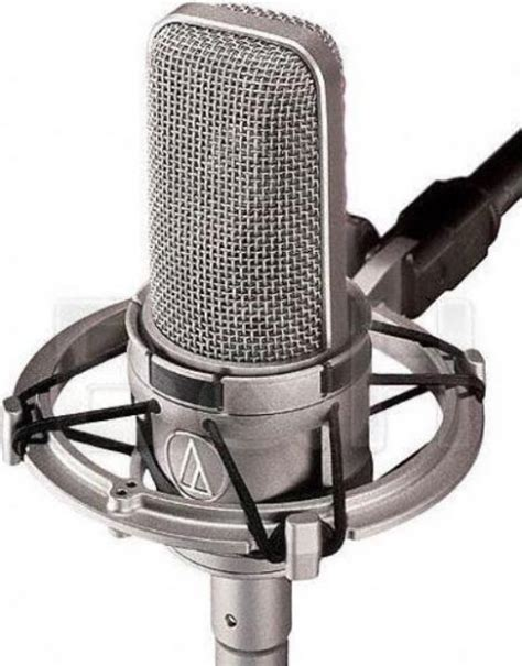 capacitor condenser microphone audio technica at4047 sv cardioid large diaphragm studio condenser capacitor microphone