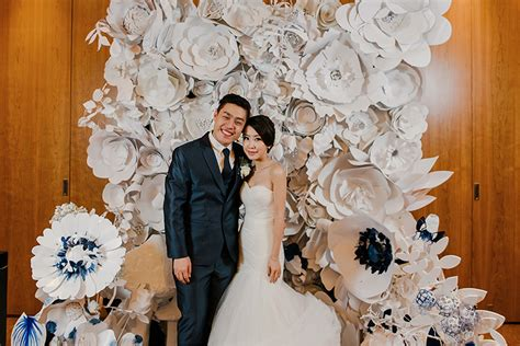 Wedding Backdrop Rental Singapore by Paper Flowers Singapore Thin