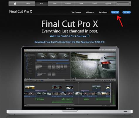 final cut pro free download mac download final cut pro x for free use for 30 days softpedia