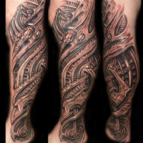 biomechanical tattoo on legs original biomechanical tattoo biomechanical leg tattoo