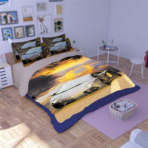 lamborghini bed lamborghini aventador car printed bedding set ebeddingsets