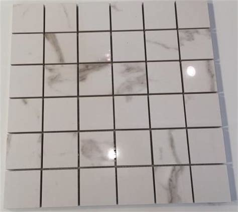 1 Inch Square Floor Tile Ivory by Gazzini Royal Gold Lappato 2 Inch Square Porcelain