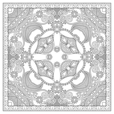 square mandala coloring pages non class 233 archives coloring pages for adults